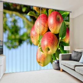 Vivid 3D Digital Print Energy Saving Curtain