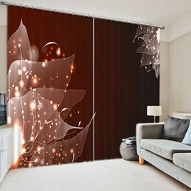 Intelligent Design Vein Print 3D Blackout Curtain
