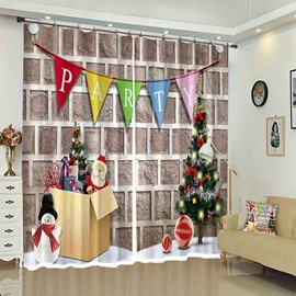 Party Flag on Wall Christmas Drapes Curtain for Holiday