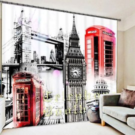 Beddinginn Architecture Decoration Creative Curtain Curtains/Window Screens