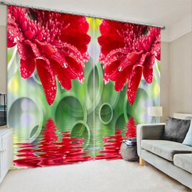 Beddinginn Curtain Decoration 3D Beautiful Floral Modern Curtains/Window Screens