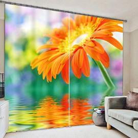 Beddinginn Modern Curtain Floral Blackout Curtains/Window Screens