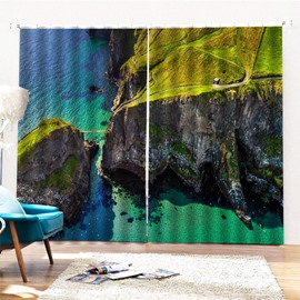 Beddinginn Modern Decoration Landscape Curtains/Window Screens