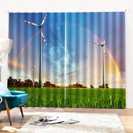 Beddinginn Decoration 3D Sky Modern Curtains/Window Screens