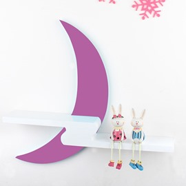 Creative Wall Decoration Moon Design Wall Shelf