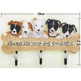 Fashion Adorable European Creative Dogs Design Hooks