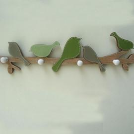 Wonderful Countryside Creative Wood Wall Hook