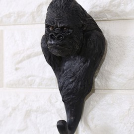 Amusing Resin Orangutan Design Home Decorative Wall Hooks