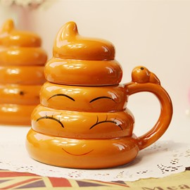 New Arrival Creative Yellow Eyelash Cups