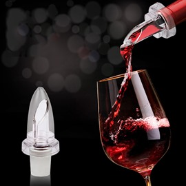 Creative Wine Bottle Stopper and Spout Pourer All-In-One