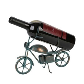 Modern and Creative Style Mini Motorcycle Design Iron Home Decorative Wine Rack
