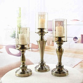 Romantic Simple European Style Home Decorative 1 Piece Candle Holders