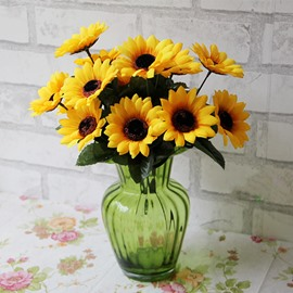 Ashland artificial flowers wholesale beddinginn 47 gorgeous bright decorative sunflower artificial flowers mightylinksfo