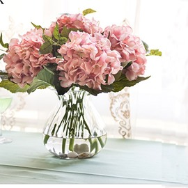 Beautiful Pink Decorative Silk Artificial Flowers