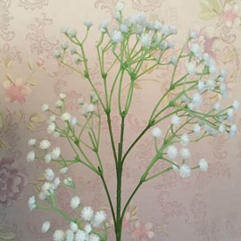Plastic Babysbreath Artificial Flowers for Home Decoration
