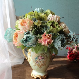 Hydrangea Hand-Made Modern Style Elegant Decoration Artificial Flowers