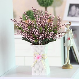 Beautiful Artificial Flower Table Decoration Love Pea Flower Sets