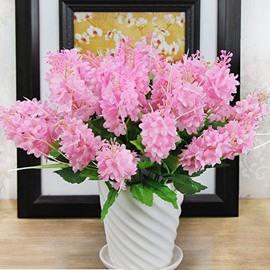 Fantastic 5-Branch Hyacinth with Ceramic Vase Artificial Flower Sets