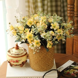 Attractive Country Style Home Decorative Desktop Flower Sets