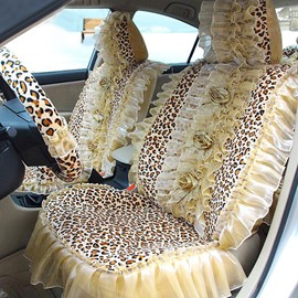 Beautiful Fashion Series Girly Design With Laces Universal Car Seat Covers