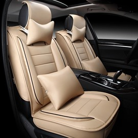 Casual Business Design Streamlined Sides With Extra Comfort Cushions Universal Car Seat Covers