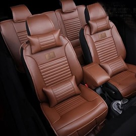 Elegant Design Classic Leather Colors Simple Universal Car Seat Covers