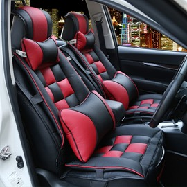 Waterproof Original Double Colored Five Seats Car Seat Covers