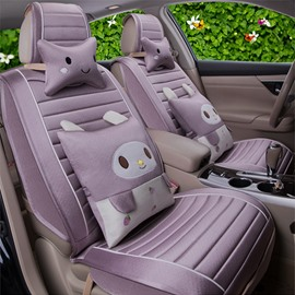 Summer Ice Silk Material And Good Breath Performance Cool Universal Seat Covers