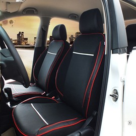 Red And Black Classic Design Sport Style Car Seat Cover