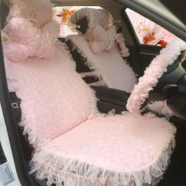 Super Lovely Beautiful Lace Design Colorful Universal Car Seat Cover
