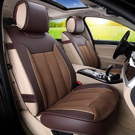 Leather And Ice Silk Mixed Material Most Popular Car Seat Cover