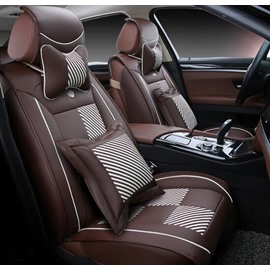 Square Pattern Popular And Attractive Easy Breathable Universal Car Seat Cover