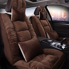 Luxurious Warm And Super Comfortable Substantial For Pruis Camry Civic Etc Universal Car Seat Cover