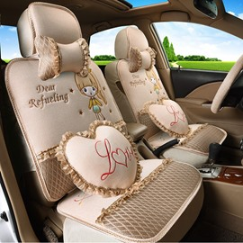 Cute Environment Material Easy Breathable Universal Car Seat Cover