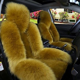 Luxury And Warm Plush Charming Fashionable Universal Car Seat Cover