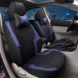 Popular Sport Design Black And Blue Color Matched Dedicated Car Seat Cover