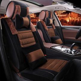 New Fashion Autumn Winter Special Design Plush Warm Universal Car Seat Cover