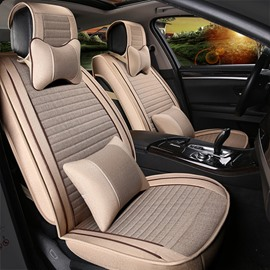 New Unique Light Contrast Color Design Easy Breathable Universal Car Seat Cover