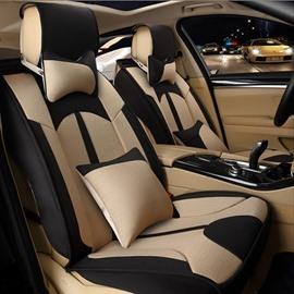 Unique Depression Type Three-Dimensional Side Design Good Permeability Universal Car Seat Cover