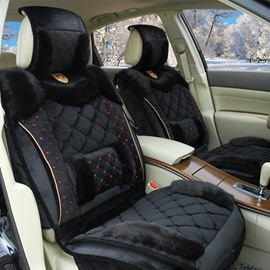 Special Fashion Design Warm Velvet Material Comfortable Universal Car Seat Cover