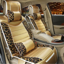 Textured Luxury Rubbing Mash Up High-Grade PVC Leather Universal Car Seat Cover