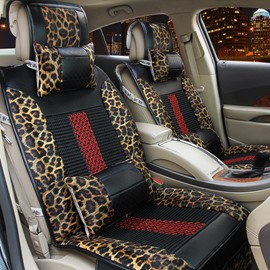 New Mash Up Printing High-Grade PVC Leather Universal Car Seat Cover