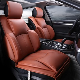 Popular 3D Fashion Design Sports And Business Style Combination Durable PU Leather Material Universal Car Seat Cover