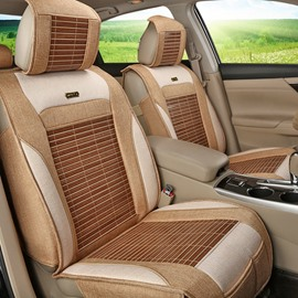 Sophisticated Technology Flax And Natural Fibers Durable In Use Car Seat Covers