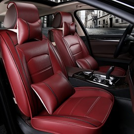 Reliable Quality Genuine Leather deft design Luxurious Car Seat Covers