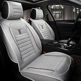 Comfortable Permeability Flax And Natural Fibers Colorful Car Seat Covers