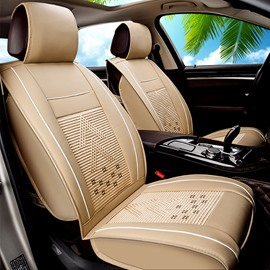 Permeability Pattern Ice Silk And Rayon Cost-Effective Car Seat Covers