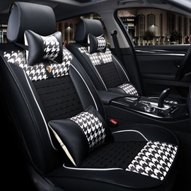 Cool Rubbing Ice Silk And Rayon Pattern Luxurious Car Seat Covers