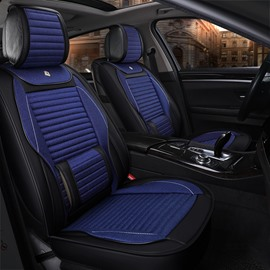 49 Simple Sport Genuine Leather Substantial Car Seat Covers