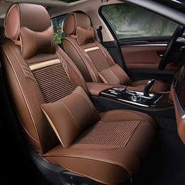 Permeability Genuine Leather Business Substantial Car Seat Covers